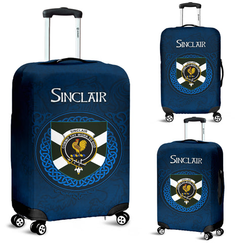 Sinclair Crest Scottish Lion Scotland Luggage Covers | Over 300 Clans