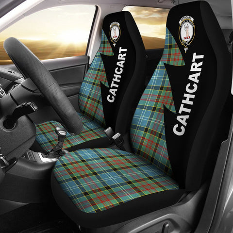 Cathcart Clans Tartan Car Seat Covers - Flash Style