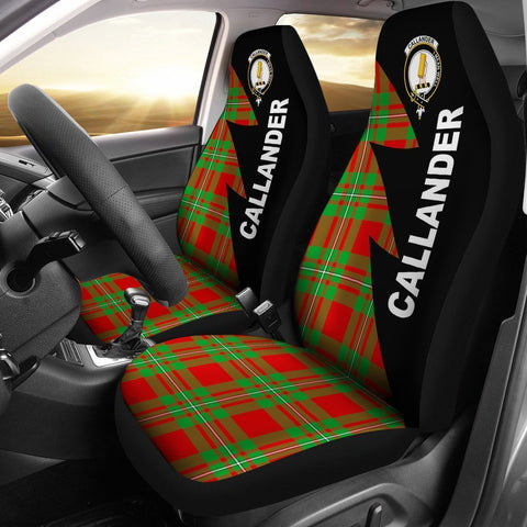 Callander Clans Tartan Car Seat Covers - Flash Style