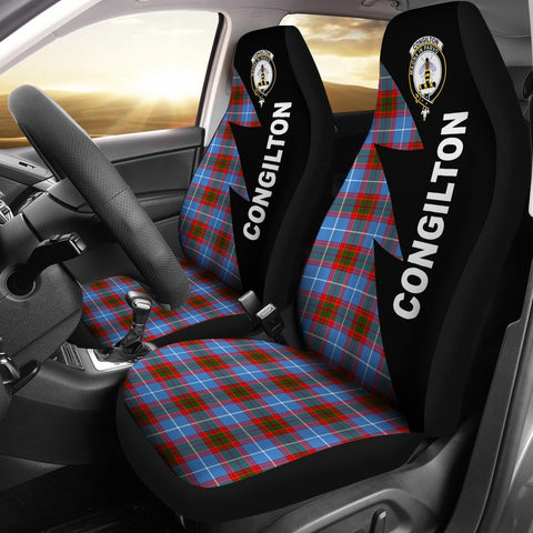 Congilton Clans Tartan Car Seat Covers - Flash Style