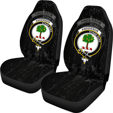 Anderson Crest Car Seat Cover (Set of Two) | Over 300 Clans