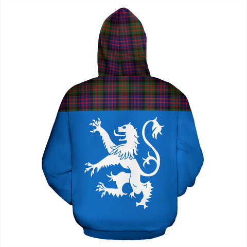 Image of MacDonald Scotland All-Over Hoodie | Women & Men | 1stscotland