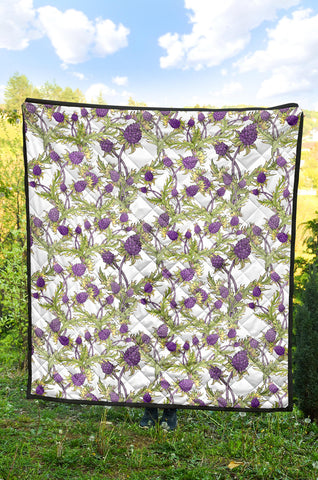 Scottish Thistle 15th Pattern Premium Quilt