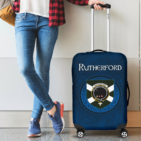 Rutherford Crest Scottish Lion Scotland Luggage Covers | Over 300 Clans