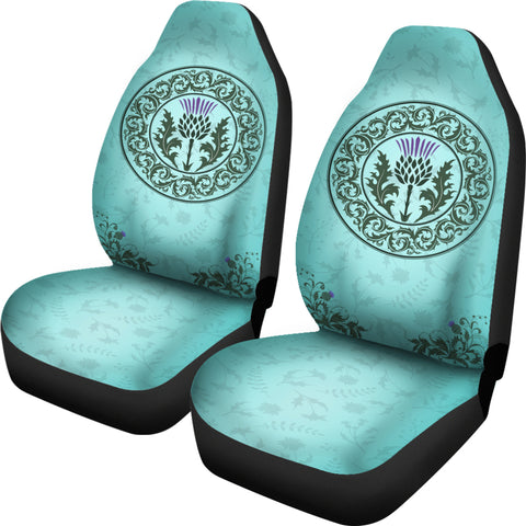 Green Thistle - Car Seat Covers | Special Custom Design