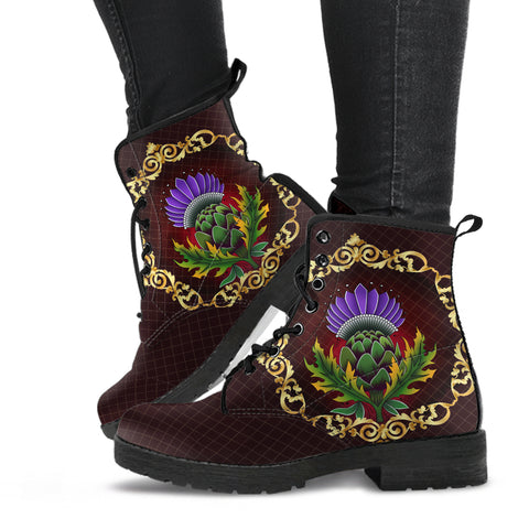 Scotland Leather Boots - Thistle Special Gold A24