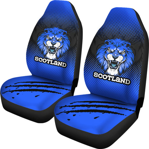 Scottish Lion Team Car Seat Covers (Universal Fits) | Love Scotland