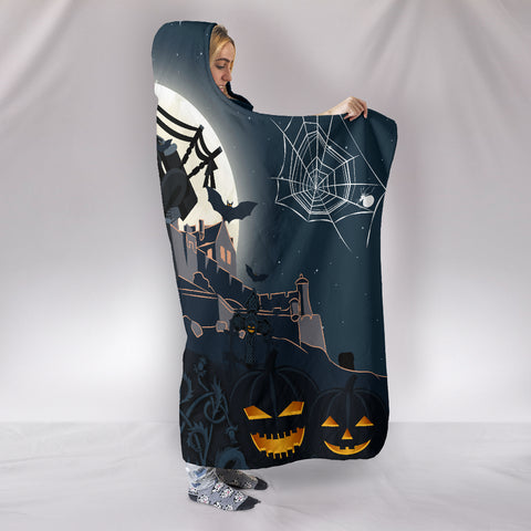 Image of Scottish Piper Halloween Hooded Blanket | Special Custom Design