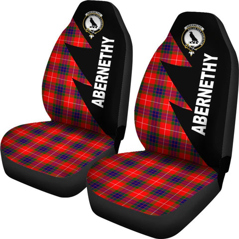 Tartan Car Seat Cover, Abernethy Clans Flash Style - Scottish Car Seat Cover A9