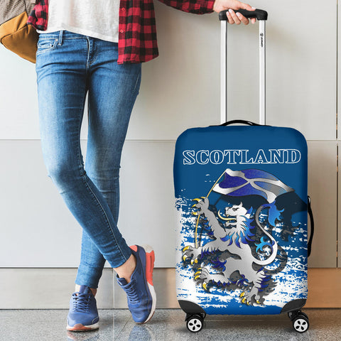 Scottish Rampant Lion Holding The Flag Luggage Covers