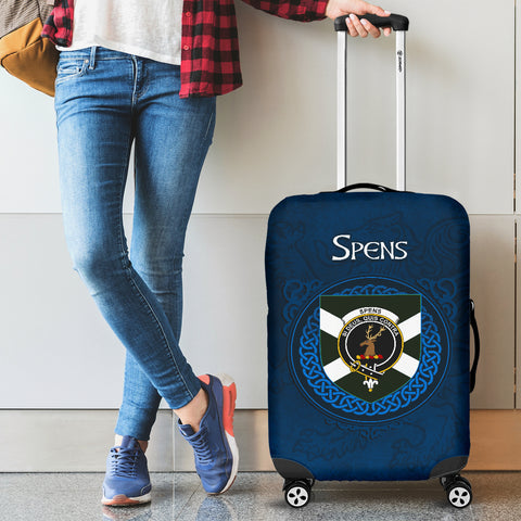 Spens (or Spence) Crest Scottish Lion Scotland Luggage Covers | Over 300 Clans