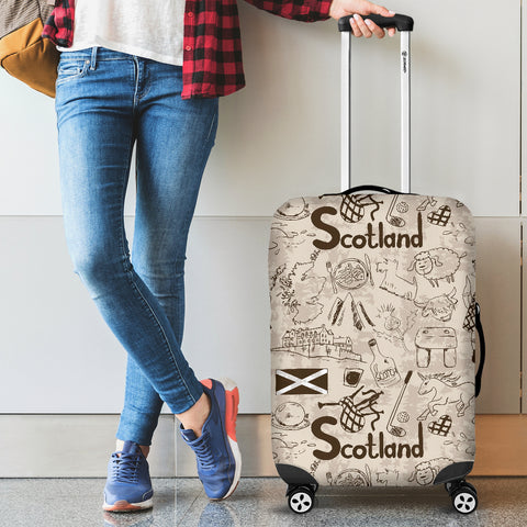 Scotland Things - Luggage Cover | Special Custom Design