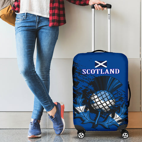 Scottish Thistle Luggage Cover Special Version