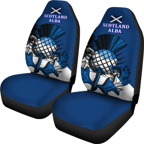 Scottish Thistle Car Seat Covers Special Version