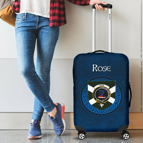 Rose Crest Scottish Lion Scotland Luggage Covers | Over 300 Clans