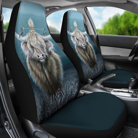 Cattle Highland Cow 02 - Car Seat Covers | Special Custom Design