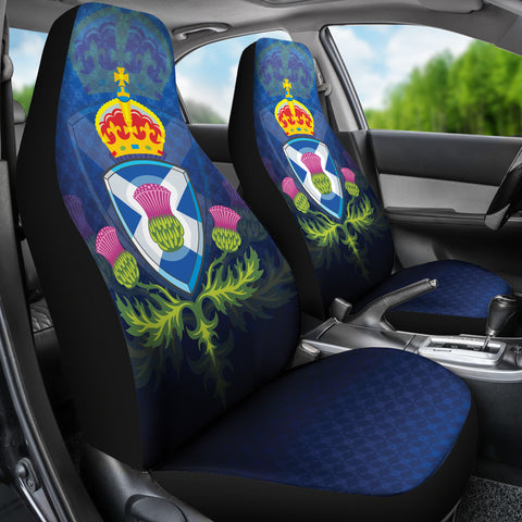 Symbol of Scotland Car Seat Covers | High Quality | 1stscotland