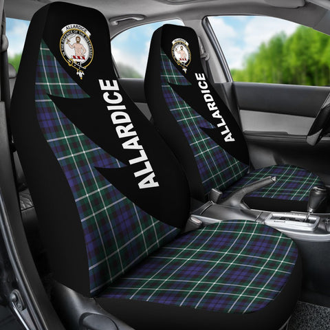 Tartan Car Seat Cover, Allardice Clans Flash Style - Scottish Car Seat Cover A9