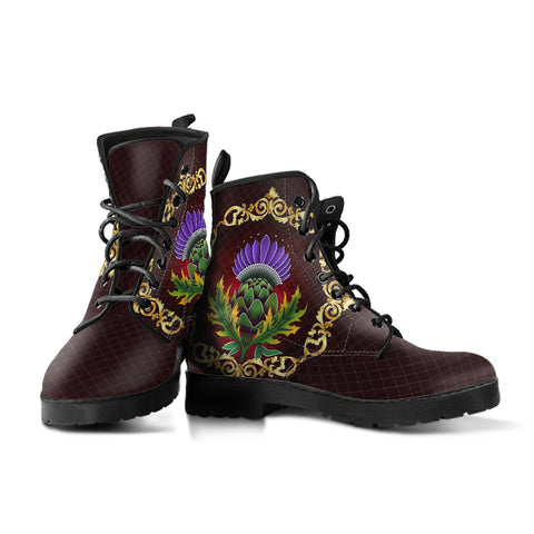 Image of Scotland Leather Boots - Thistle Special Gold A24
