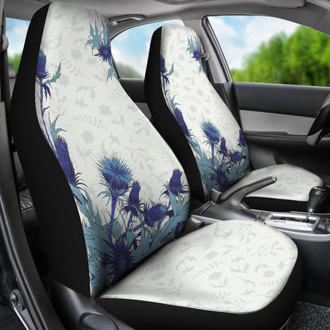 Blue Thistle - Car Seat Covers | Special Custom Design