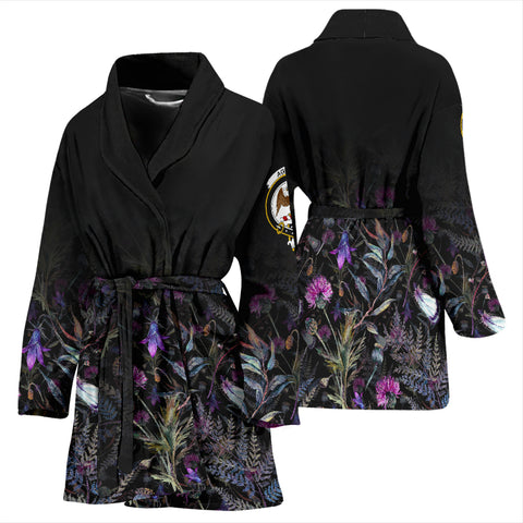 Agnew Crest Bath Robe Scottish Thistle | Over 300 Clans