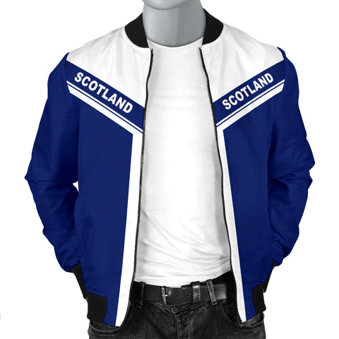 Image of Scotland Spirit Men's Bomber Jacket | Men & Women | Clothing