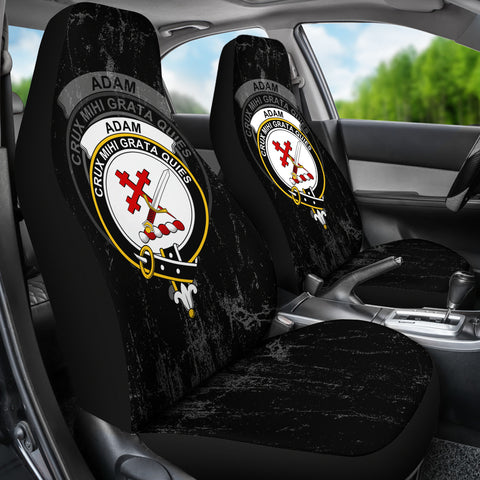 Adam Crest Car Seat Cover (Set of Two) | Over 300 Clans
