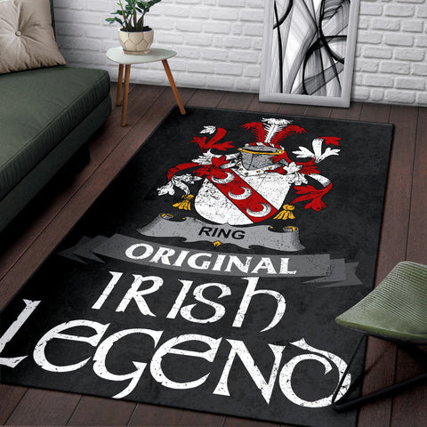 Ring or O'Ring Ireland Area Original Irish Legend - Irish Family Crest | Over 1400 Crests | Home Decor | Home Set