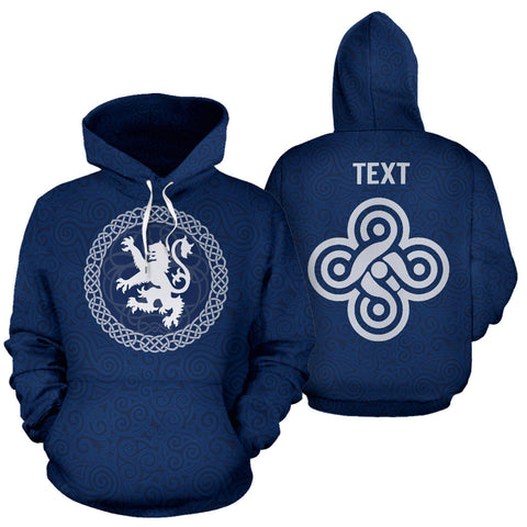 Custom - Celtic Lion Pullover Hoodie | Clothing | Love Scotland