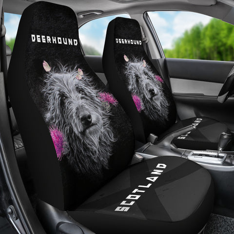 Scottish Deerhound Seat Covers (Set of 2) | Love Scotland