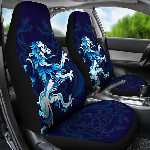 Rampant Lion - Scotland Car Seat Covers (Set of 2) | Love Scotland