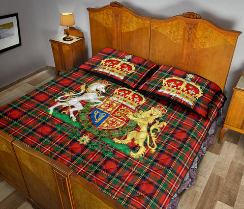 Image of Scotland Quilt Bed Set - Scottish Royal Stewart | Love Scotland