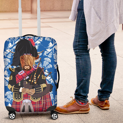 Heilan Coo & Bag Pipe - Luggage Cover | Hot Sale
