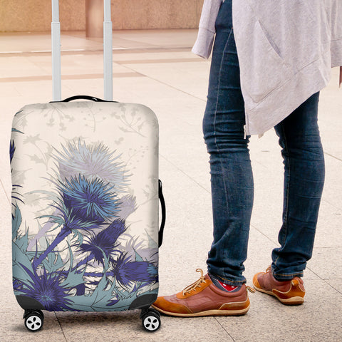 Blue Thistle - Luggage Covers | Special Custom Design