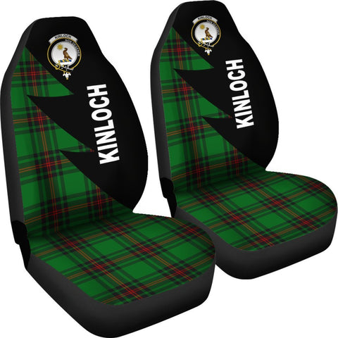 Tartan Car Seat Cover, Kinloch Clans Flash Style - Scottish Car Seat Cover A9