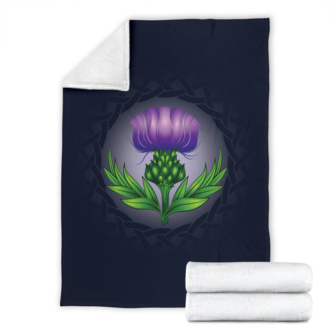 Love Scotland | Glowing Thistle Premium Blanket