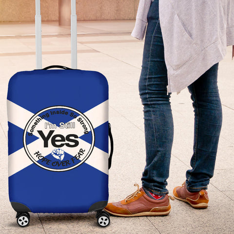 Scotland Luggage Covers Hope Over Fear A7