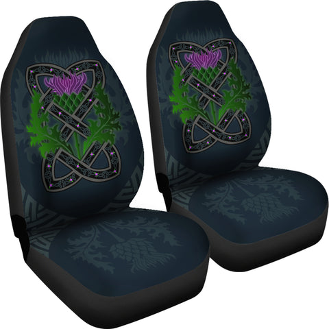 Celtic Myth Thistle Car Seat Covers | Love Scotland