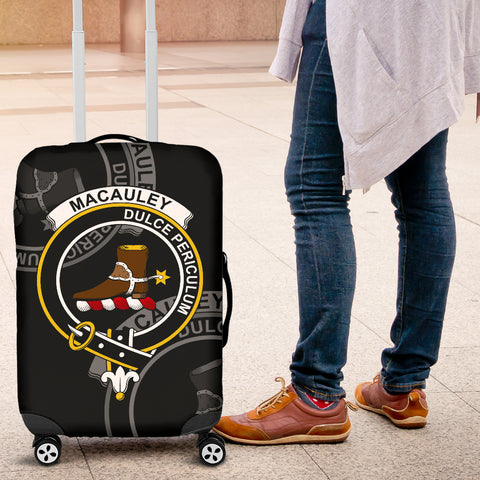 MacAuley Crest Scotland Luggage Covers | Overs 300 clans