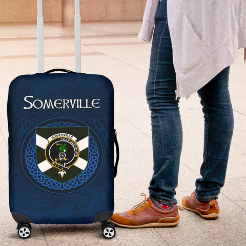 Somerville Crest Scottish Lion Scotland Luggage Covers | Over 300 Clans
