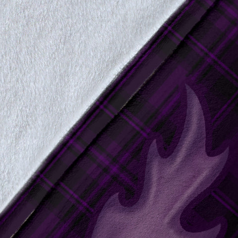 Special Purple Thistle Premium Blanket
