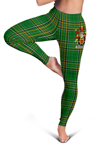 Alister or McAlister Ireland Leggings Irish National Tartan | Over 1400 Crests | Clothing | Pant