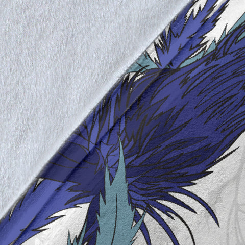 Blue Thistle Premium Blanket