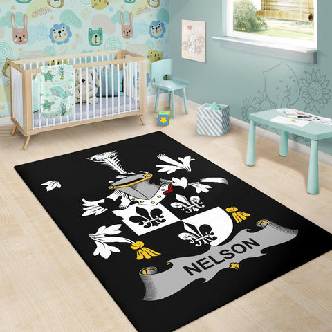 Nelson or Nealson Ireland Area Rug - Irish Family Crest | Over 1400 Crests | Home Decor | Home Set