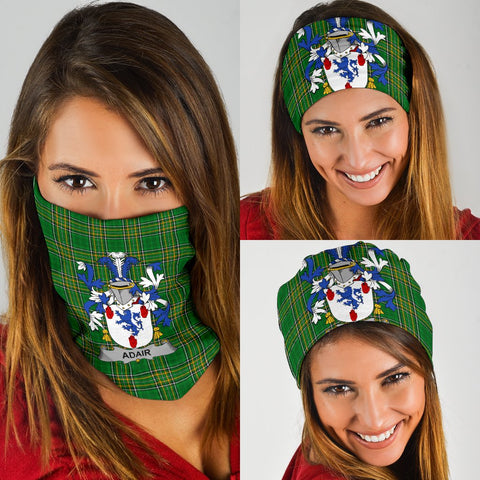 Adair Ireland Bandana 3-Pack - Irish National Tartan Neck Gaiter A7