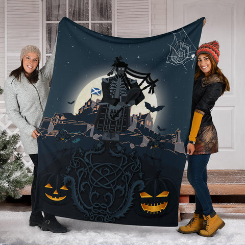Scottish Piper Halloween Premium Blanket | Special Custom Design