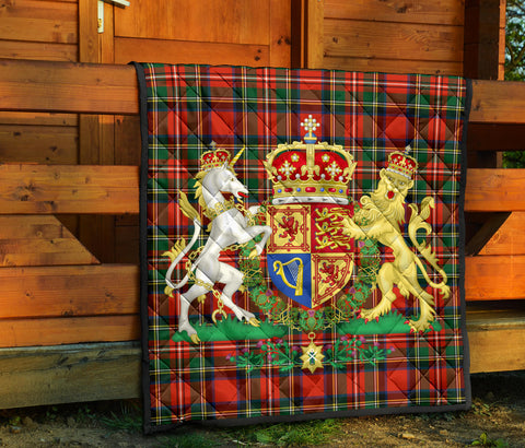 Scotland Premium Quilt - Kingdom Royal Arms OfScotland