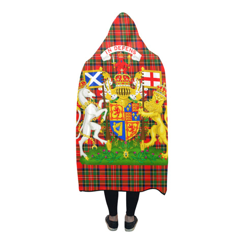Scotland Coat Of Arms - Hooded Blanket | Special Custom Design