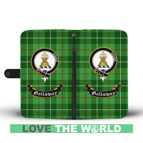 Tartan Wallet Case - Galloway Clan | Scottish Wallet Case | 1stScotlands