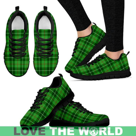 Galloway District Tartan Sneakers - Bn Mens Sneakers Black 1 / Us5 (Eu38)